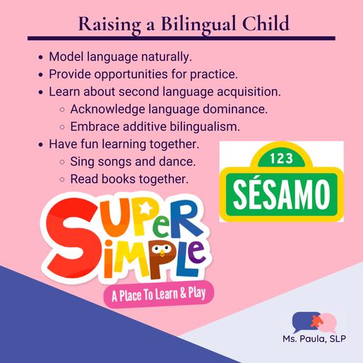 Bilingual Speech Therapy for Kids | Ms Paula SLP